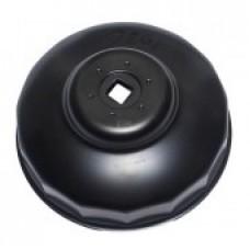 Φιλτρόκλειδο ποτήρι διπλό Φ65/Φ67 με 14 πλευρές