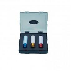 Σέτ καρυδάκια ζάντας 3 τεμάχια (17-19-21ΜΜ)