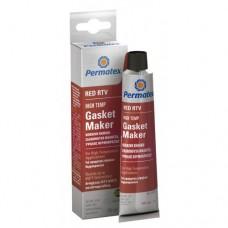 Permatex  High-Temp Red RTV Silicone Gasket Maker