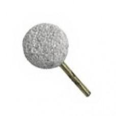 Τροχός πέτρα μπαλάκι άσπρο 38mm